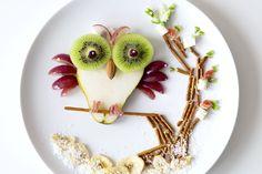 Süße Tellerdekoration für Klein und Groß ✔ Köstlicher Start in den Tag ✔ Da machen nicht nur die Eulen große Augen ✔ Zum Tipp ➡ meinheimvorteil