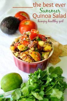 The Best Summer Vegan Quinoa Salad Recipe plus 24 more Vegan black bean recipes