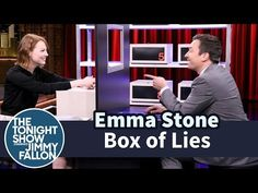 "The Tonight Show Starring Jimmy Fallon ""Box of Lies with Emma Stone"""