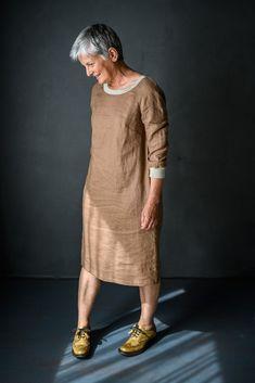 The Fielder - Merchant & Mills Merchant And Mills, Sew Your Own Clothes, Sewing Clothes, Diy Clothes, Linen Dress Pattern, Apron Dress, Blouse Dress, Linen Tunic Dress, Linen Dresses