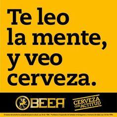 Veo cerveza