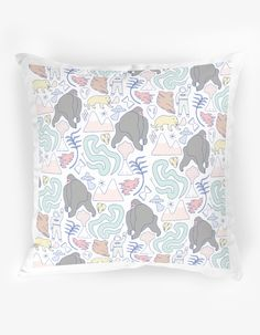 The Club of Odd Volumes - Jungle cushion Designed by Min Pin