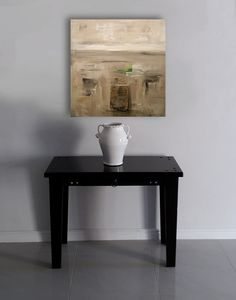 """Relic 2"" a stunning authentic original abstract painting by André Pillay. This painting would look beautiful in your home interiors. View André's full collection on FineArtSeen l The Home Of Original Art. << Pin For Later <<"