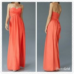 Chiffon Long Dress from The BEST OF BOTH WORLDS BOUTIQUE MONOGRAM AND GIFTS for $100.00