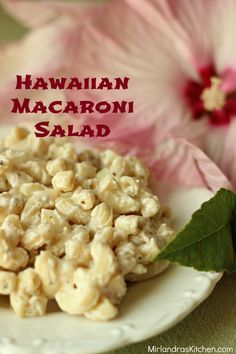 This Mac Salad is our all time favorite.  It is the perfect companion for all things grill!  I take to parties all summer long and every time people ask for the recipe.  It's creamy, not gooey and has a fresh, playful flavor. Loaded Potato Salad, Hawaiian Macaroni Salad, Macaroni Salads, Hawaiian Restaurant, Menu Restaurant, Big Mac, Plate Lunch, Dinner Side Dishes, Soup And Salad