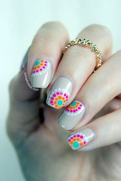 Nail Art Ideas For Spring 16