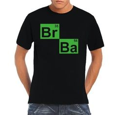 BARGAIN Men's T-Shirt Breaking Bad BR BA Heisenberg Principle FROM JUST £5.12 At Amazon - Gratisfaction UK Bargains #breakingbad #heisenberg #bargains