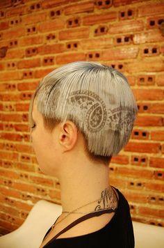 Wow Gorgeous Creative Hairstyles - Love It Creative Hairstyles, Up Hairstyles, Hair Styles 2016, Short Hair Styles, Hair Stenciling, Jackson, Dreadlocks, Hair Color And Cut, Hair Affair