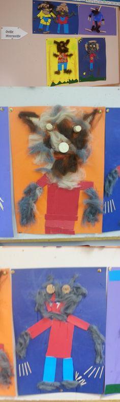 dolfje weerwolfje Creative Teaching, Creative Art, World Literature, Halloween Art, Art For Kids, Artist, Painting, Carton Box, Art For Toddlers