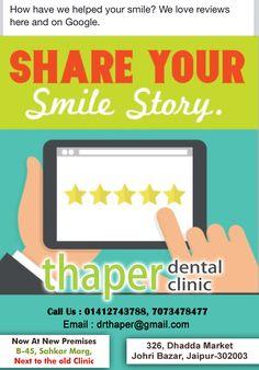Dental Hospital, Healthy Teeth, Pain Management, Dental Care, Jaipur, Your Smile, Clinic, Health Care, Marketing