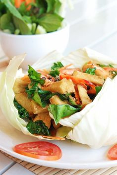 Tofu so zeleninou