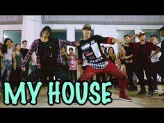MY HOUSE - Flo Rida Dance   @MattSteffanina Choreography (Int Hip Hop Class) - YouTube