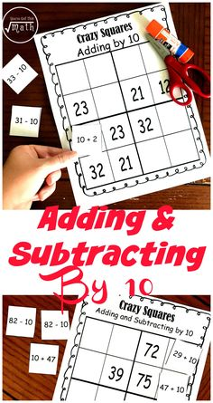 Get a FREE Adding By 10 Activity to Challenge Students