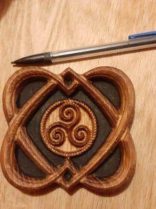 COEURS CELTE ET TRISKEL ARTFORWICCA - ArtforWicca Symbols, Home Made, Woodwind Instrument