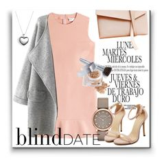 """Blind date"" by karolinaneverkarolcia ❤ liked on Polyvore featuring RED Valentino, Marc by Marc Jacobs, Elizabeth Cole, Pandora, Christian Dior, women's clothing, women, female, woman and misses"