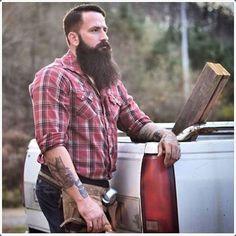The long #beard projects an urban look.