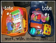 """Keeping kids toys organized! You rotate through them too so they have something """"new"""" every week to play with."""