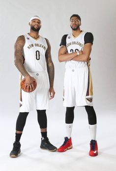 "DeMarcus ""Boogie"" Cousins + Anthony Marshon Davis! (Basketball Players)"