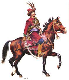 Croatian rider, late 17th century