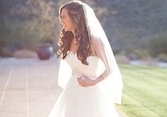 Bridal+Hairstyles+Down+with+Veil | 26 Phenomenal Wedding Hairstyles With Veil | CreativeFan
