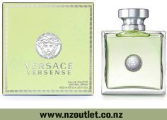 #Versace Versense by Versace,Eau De Toilette #Spray for Women Its composition opens with fruit of the Mediterranean: bergamot and green mandarin, and wraps you with freshness and luminous, optimistic accords with irresistible fig zests. Pleasure will rise with sparks of citruses mixed with fruity aromas. http://nzoutlet.co.nz/product/product_details/VERSACE-VERSENSE-EDT