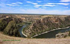 VIAJES PARA TODA UNA VIDA: Las Hoces del Río Duratón, en Segovia