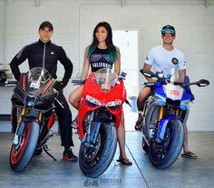 Ducati 899 Panigale vs Yamaha r1 vs Aprilia rsv4