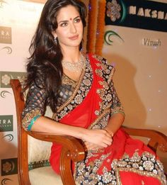 Beautiful sari.