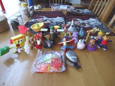 Lot Of 22 Toys Happy Meal ,TV Toys,Etc.