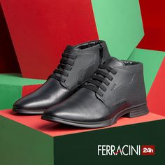 Presenteie quem você ama! A linha Moden é arrojada e confortável, com uma ótima durabilidade! #ferracini24h #shoes #cool #trend #brasil #manshoes