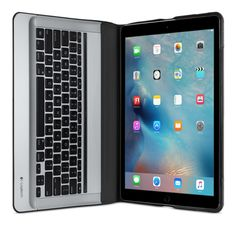 da61c4f89c32f The Logitech CREATE Backlit Keyboard Case automatically powers on and  connects with iPad Pro when placed