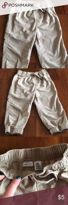 Euc Firm In Structure Old Navy Baby Boy Gray Cotton Shorts Size 0-3 Months Bottoms