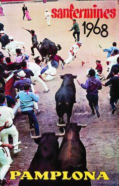 San Fermín 1968 Fernando Galle