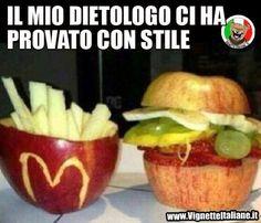 La dieta camuffata (www.VignetteItaliane.it)