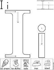 Image result for preschool alphabet worksheets
