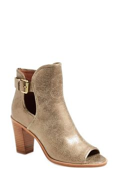 Donald J Pliner 'Kara' Open Toe Bootie (Women) available at #Nordstrom