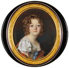 The Pohl-Ströher Collection of Portrait Miniatures Part 1 Creepy Kids, Creepy Children, Miniature Portraits, Miniature Paintings, Artist Names, Pictures To Paint, Female Art, Modern Art, Illustration Art