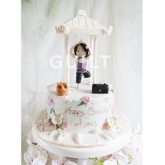 Yoga girl - Cake by Guilt Desserts