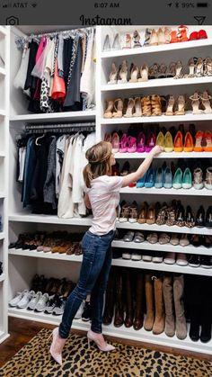 39 Trendy Ideas For Master Closet Organization Shoes Dressing Rooms Walk In Closet Design, Bedroom Closet Design, Master Bedroom Closet, Closet Designs, Diy Bedroom, Master Bedrooms, Bedroom Cleaning, Small Walk In Closet Ideas, Diy Closet Ideas