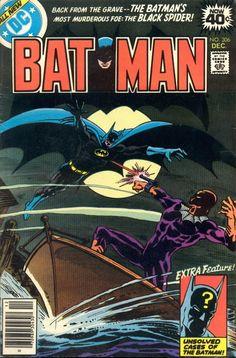 Batman #306, December 1978, cover by Jim Aparo.