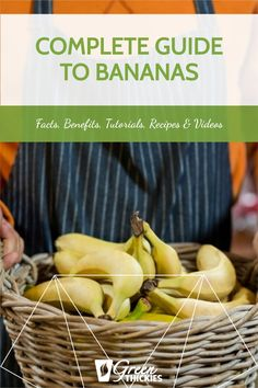 If you love bananas, you're in for a treat. I share fascinating banana facts, benefits, tutorials, recipes and videos in this epic ultimate guide to bananas. Strawberry Banana Smoothie, Oatmeal Smoothies, Vegan Smoothies, Fruit Smoothies, Diet Smoothie Recipes, Breakfast Smoothie Recipes, Smoothie Diet, Diet Recipes, Banana Recipes