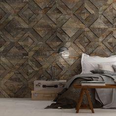 Cast Iron Spanish Floor and Wall Tile - BV Tile and Stone Cast Iron, It Cast, Unique Tile, Copper Decor, Italian Tiles, Iron Wall, Black Decor, Tile Design, Textured Walls