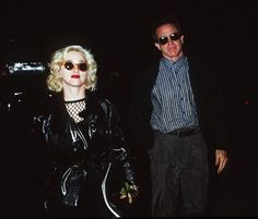 "This relationship was immortalized in the 1991 Madonna documentary Truth or Dare, in which Beatty famously chides Madge: ""There's nothing to say off-camera. Why would you say something if it's off-camera? What point is there existing?"" - Photo: Getty Images"
