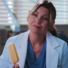 Meredith Grey Hair, Meredith Y Derek, Greys Anatomy Funny, Greys Anatomy Cast, Lexie Grey, Derek Shepherd, Meridith Grey, Icon Girl, Greys Anatomy Characters