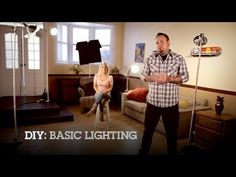 So simple! Plus doesn't cost an arm and a leg. DIY: Make Your Own Basic Lighting Kit at Home