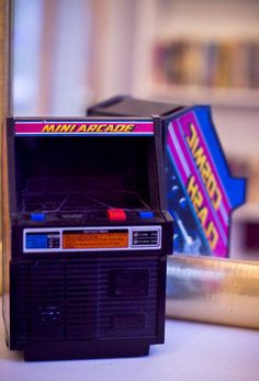 Any type of 80's technology thing, arcades, radios, hi-fis, electro toys and musical instruments offer infinite joy and inspiration to me.