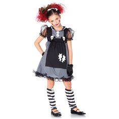 Leg+Avenue+3+PC+Dark+Dollie+Costume+Size+Medium