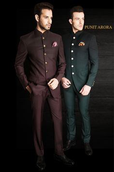 Bandhgalas Mens Indian Wear, Mens Ethnic Wear, Indian Groom Wear, Indian Men Fashion, Mens Fashion Wear, Wedding Dresses Men Indian, Formal Dresses For Men, Wedding Dress Men, Wedding Men