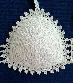 D'iDéias Arte Crochê: Biquini em croche