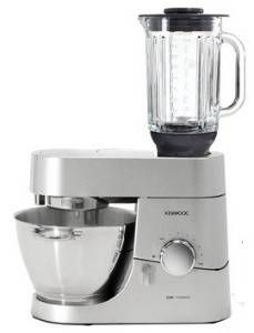 Kenwood KMC010 Chef Stand Mixer Titanium